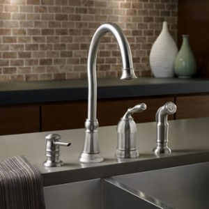 Moen Lindley One Handle High Arc Kitchen Faucet With Spot Resist