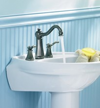 Moen Vestige Two Handle High Arc Bathroom Faucet
