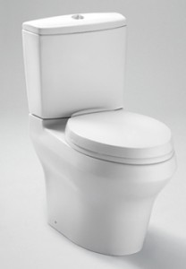 Toto Aquia III Dual Flush Elongated Toilet