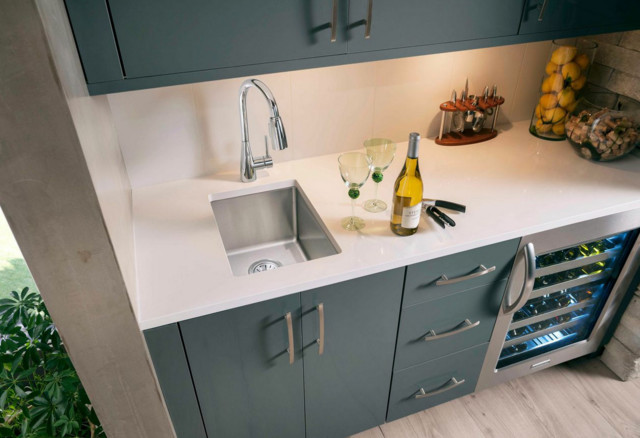 Superb Elkay Stainless Steel Bar Prep Sink